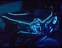 Подсветкамото мотоцикла—холодным неоном 5.0мм