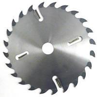 Диск пильный по дереву  с твердосплавными напайками и подрезными ножами Schans 250х32х2,4мм; 18+4 зубьев