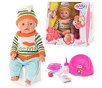 Кукла пупс 8001 Baby Doll  9 функций (зима)