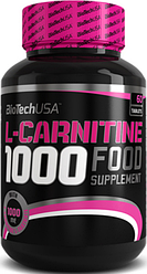 BioTech USA L-Carnitine 1000 mg 60t