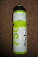 Бутылка для воды спортивная I LOVE SPORTS салатовый 0,75л