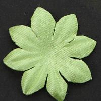 Цветок семилистник. Цвет ярко - салатовый. Размер 25 мм