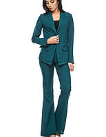 Классический женский костюм | 1250 br зеленый