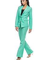 Классический женский костюм | 1250 br бирюзовый