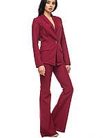 Классический женский костюм | 1250 br бордовый