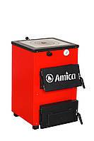 Твердотопливный котел Amica Optima 18р (с чугунной плитой) - 18 кВт