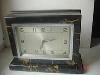Часы ар-деко мрамор бронза 20е годы царизм