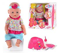 Кукла пупс 8001-2-3-4 Беби борн Baby Born 9 функций  (лето)