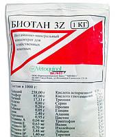 Биотан 3Z 1кг -20кг Польша. Витаминно-минеральный концентрат для домашних животных