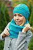 Комплект шапка и шарф , фото 10