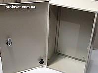 Щит металлический 400х500х200 с панелью, фото 1