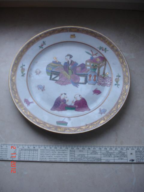 Тарелка ручная работа, Япония 1914 год