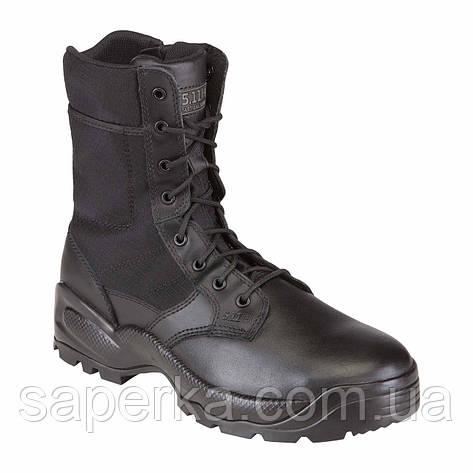 Берцы тактические 5.11 Speed 2.0 8 Side Zip Black, фото 2