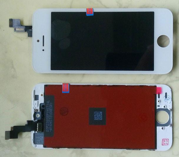 Дисплей модуль iPhone 5s в зборі з тачскріном білий, Tianma