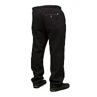 Теплые мужские батальные брюки байка новые модели 0649G Black
