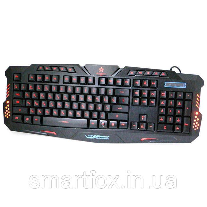Клавиатура игровая с подсветкой USB M200 Gamer