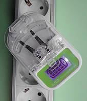 Универсальное СЗУ зарядное устройство (лягушка, жабка) с LCD индикатором заряда