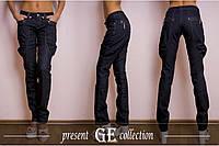 Итальянские женские джинсы Галифе сток