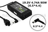 Блок питания для ноутбука Sony VAIO 19.5v 4.74a 90w (6.5/4.4) VGP-AC19V19 VGP-AC19V25 VGN-FS500 VGN-FS940 , фото 1
