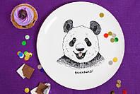 Тарелка Панда вкусняшка на Подарок