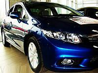 Молдинги на двери Honda Civic 4 Dr sedan 2011-2013 / lift. 2014-2016
