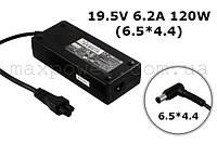 Блок питания для ноутбука Sony VAIO 19.5V 6.2A 120W (6.5/4.4) PCGA-AC19V15 VGP-AC19V15 PCGA-AC19V6 PCGA-AC19V7