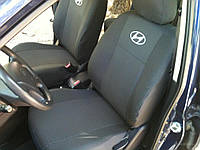Чехлы на сидения Hyundai Accent 2010+ Хюндай Акцент