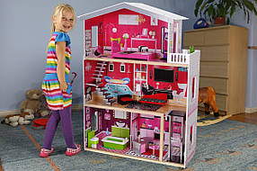 Игровой кукольный домик Malibu + лифт