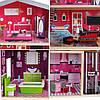 Ігровий ляльковий будиночок для барбі Ecotoys 4118 Malibu + ліфт, фото 4