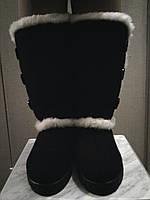 Сапоги женские валенки не боятся морозов до -30С и согреют ноги