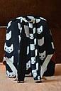 Рюкзак городской Котики черный, фото 4