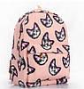 Рюкзак городской Котики розовый