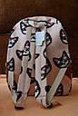 Рюкзак городской Котики розовый, фото 4