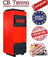 Твердотопливный котел длительного горения Amica Time C 48 кВт