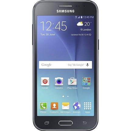 Мобильный телефон Samsung Galaxy J200 Black, фото 2