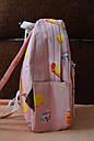 Рюкзак городской Мороженное розовый, фото 3