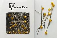 Булавки флористические золотые 4 см