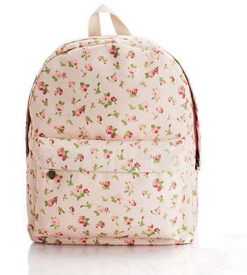 Рюкзак городской Цветы