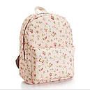 Рюкзак городской Цветы, фото 2