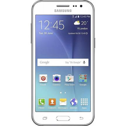 Мобильный телефон Samsung Galaxy J200 White , фото 2