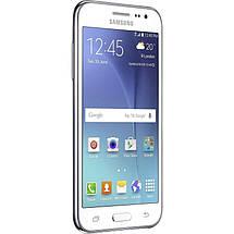 Мобильный телефон Samsung Galaxy J200 White , фото 3
