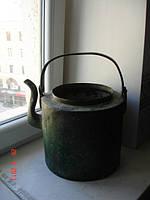 Чайник медный полковой 12 литров