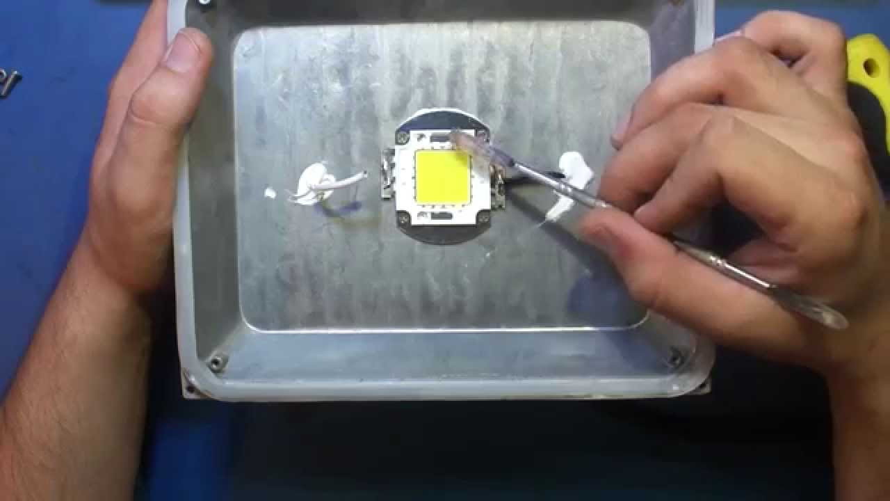 Ремонт лед светильников
