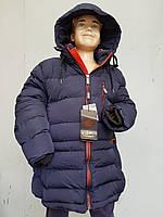 Куртка зимняя на мальчика подросток HIKIS с кнопками, фото 1