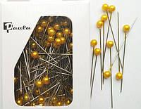 Булавки флористические золотые 5,5 см
