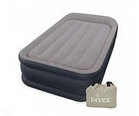 Односпальная надувная кровать 67732  со встроенным электронасосом 99Х191Х48 см