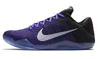 Кроссовки баскетбольные Nike Kobe 11 (найк коби 11) синие