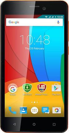 Мобильный телефон Prestigio 3508 Dual Orange, фото 2