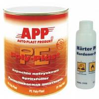 Шпатлевка жидкая распыляемая РЕ POLY-PLAST