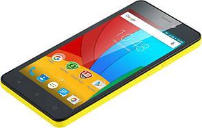 Мобильный телефон Prestigio 3508 Dual Yellow, фото 2